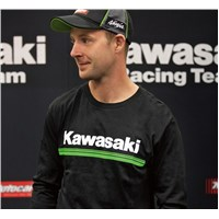 Kawasaki 3 Green Lines Long Sleeve T-Shirt