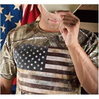 Flag Realtree® Xtra Green T-Shirt