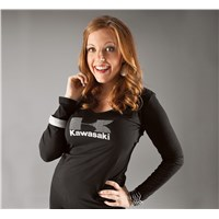 Women'S Long Sleeve Kawasaki Stud Tee