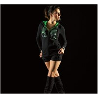 Kawi Girl™ Hearty Love Hooded Sweatshirt
