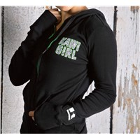 Kawi Girl™ Zebra Hooded Sweatshirt