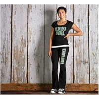 Kawi Girl™ Zebra Yoga Pants