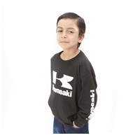 Youth Stacked Logo Long Sleeve T-Shirt