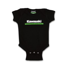 Infant Kawasaki 3 Green Lines Onesie