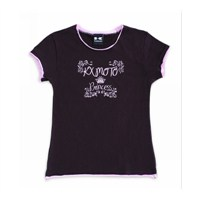Girls Kx™ Moto Princess Twofer Tee