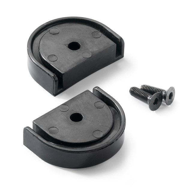 Adjustable footpeg slider set
