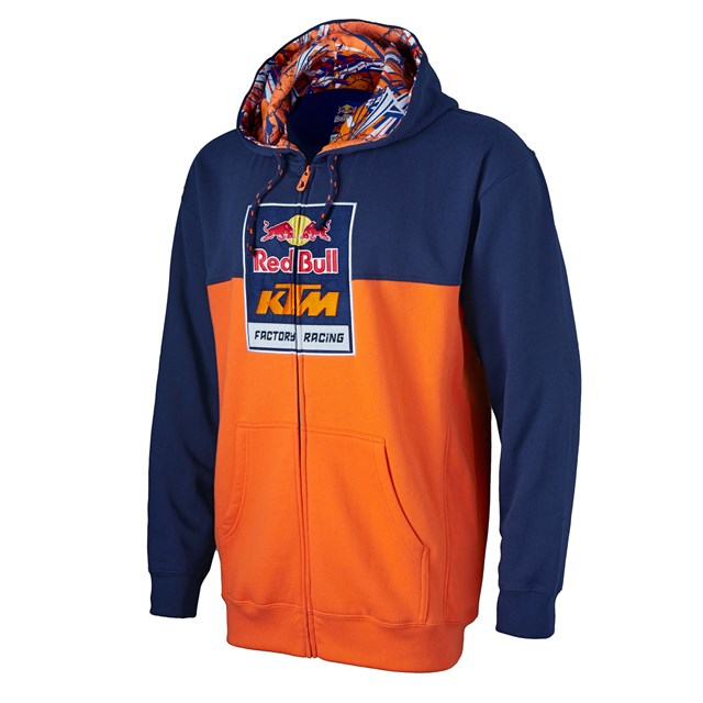 red bull ktm factory racing logo sweatshirt babbitts online. Black Bedroom Furniture Sets. Home Design Ideas