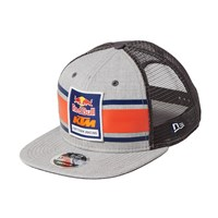 RB/KTM CROWN STRIPE TRUCKER GREY