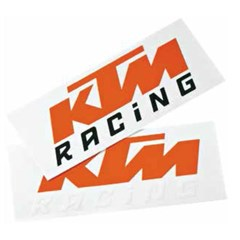KTM Racing Trailer Decal