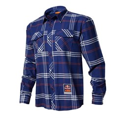 RB/KTM L/S FLANNEL NAVY