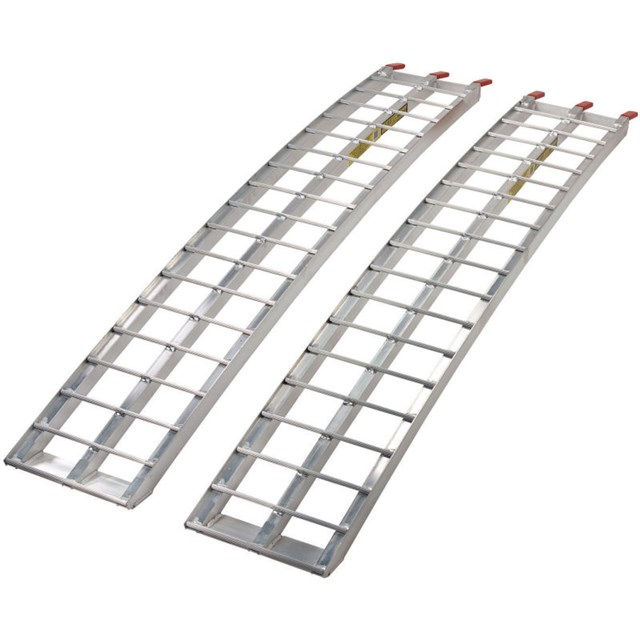 Heavy-Duty Aluminum Arched Ramp