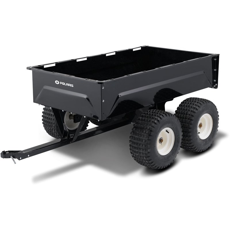 Tandem Axle Metal Utility Cart by Polaris®