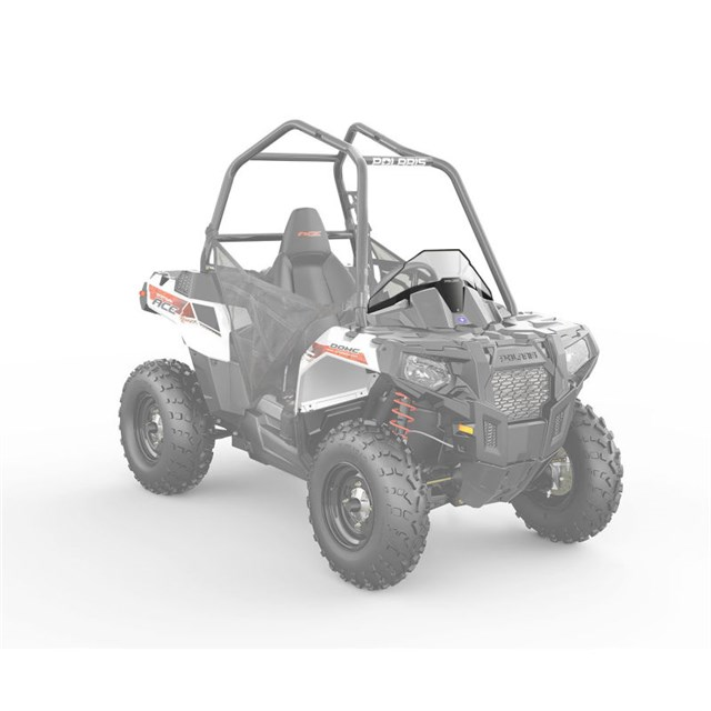 Lock & Ride® Sport Poly Windshield by Polaris®