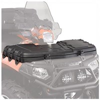 50 lb. Capacity Lockable Front Cargo Box, Black