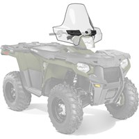 Lock & Ride® Tall Windshield- Clear