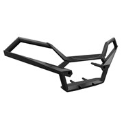 Ultimate Series Steel Front Bumper, Black