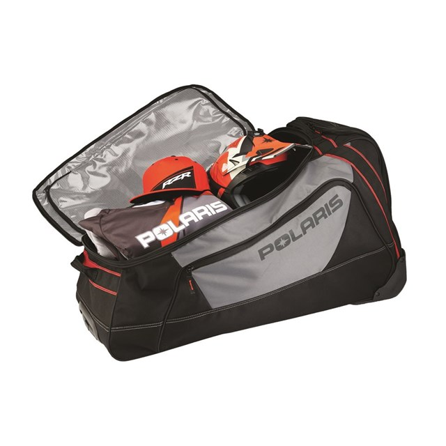 OGIO® Big Mouth Rolling Gear Bag - Black/Gray