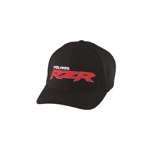 Men's Logo Cap (S/M) - Black/Red