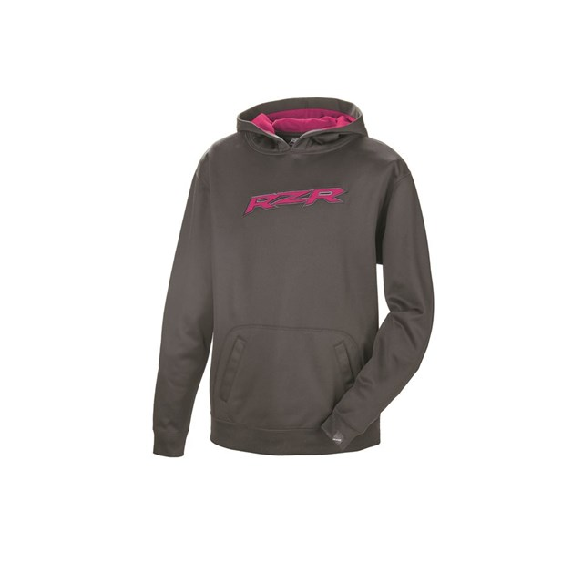 Youth Vapor Hoodie - Black/Pink by RZR®