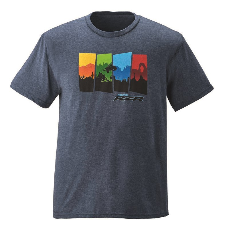 Men's 4-Scene Graphic T-Shirt with RZR® Logo
