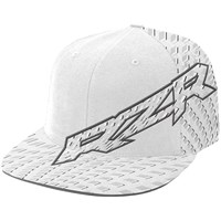 Mens Fitted Tellico Hat S/M - White by Polaris
