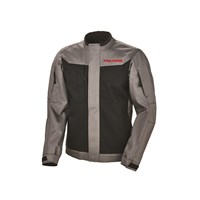 Mens Riding Jacket - Black/Gray by Polaris®