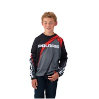 Youth Off-Road Riding Jersey - Red by Polaris®
