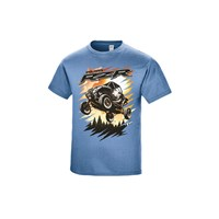 Youth Air Tee - Blue