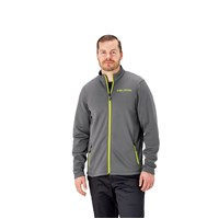 Men's Mid Layer - Gray/Lime