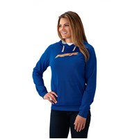 Women's Vapor Hoodie Sweatshirt with RZR® Logo, Blue/Orange
