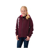 Youth Girl's FZ Hoodie - Berry