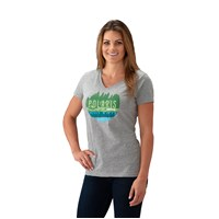 Women's Trail V-Neck - Gray