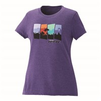 Women's 4-Scene Tee - Purple Frost