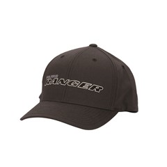 Men's (L/XL) Flexfit Hat with Gray RANGER® Logo, Gray