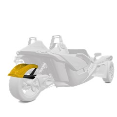 305 mm. Rear Fender - Daytona Yellow