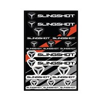 UV Coated Laminate Slingshot® Logo Sticker Sheet