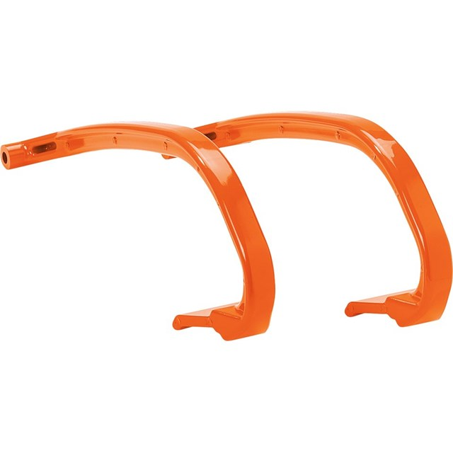 Snowmobile Ski Hoops - Orange