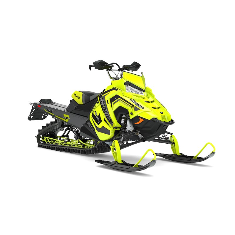 Low Windshield - Lime Squeeze | 2017 Polaris 800 SwitchBack Assault 144