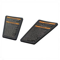 Snowmobile Knee Pads - Black