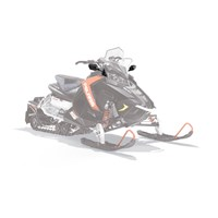 AXYS® Snowmobile Mirrors - Black