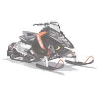 AXYS® Snowmobile Low Windshield - White