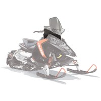 AXYS® Snowmobile Extra Tall Windshield - Smoke