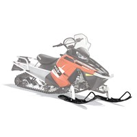 Pro Float Snowmobile Ski - Black