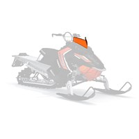 AXYS® Low Windshield- Orange/Black