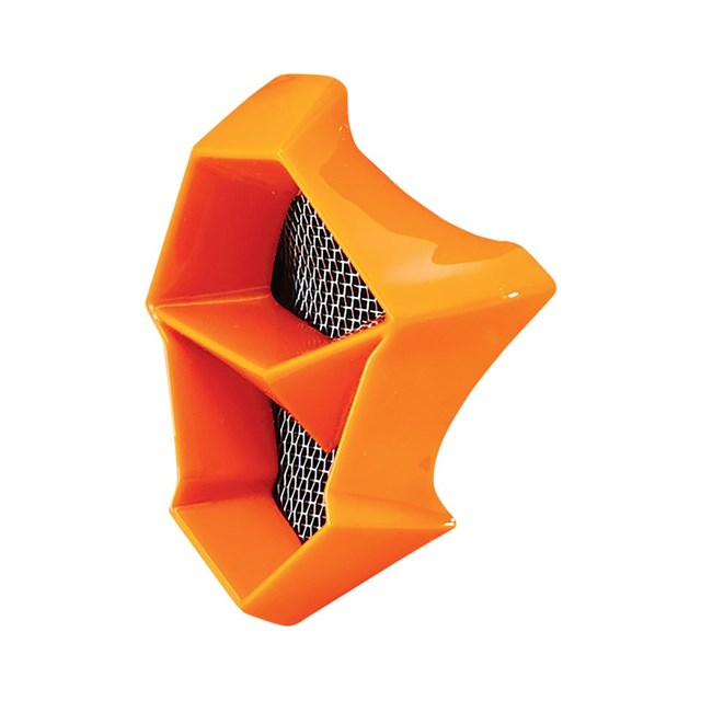 FLY F2 Mouth Piece- Orange Fractal