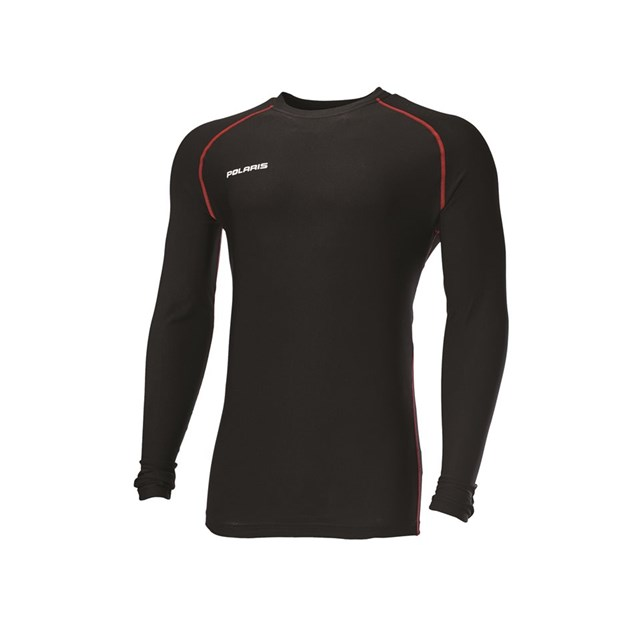 Men's Lightweight Base Layer Top - Black