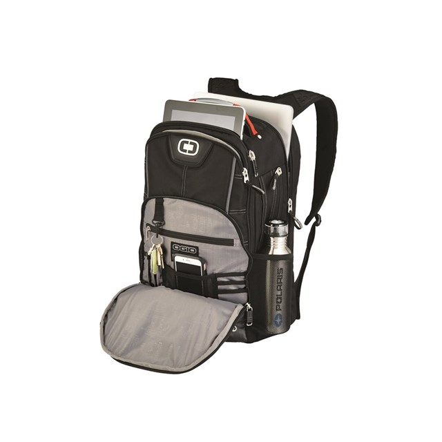 OGIO® Axle Laptop Backpack - Black/Gray