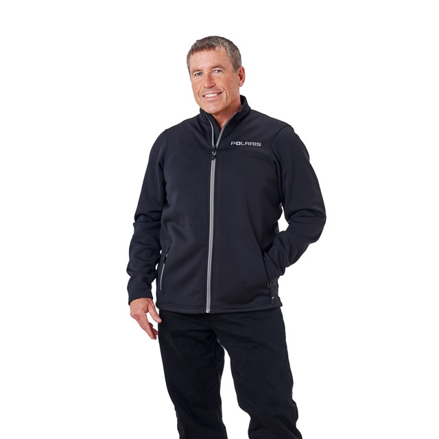 Men's Mid Layer - Black/Gray
