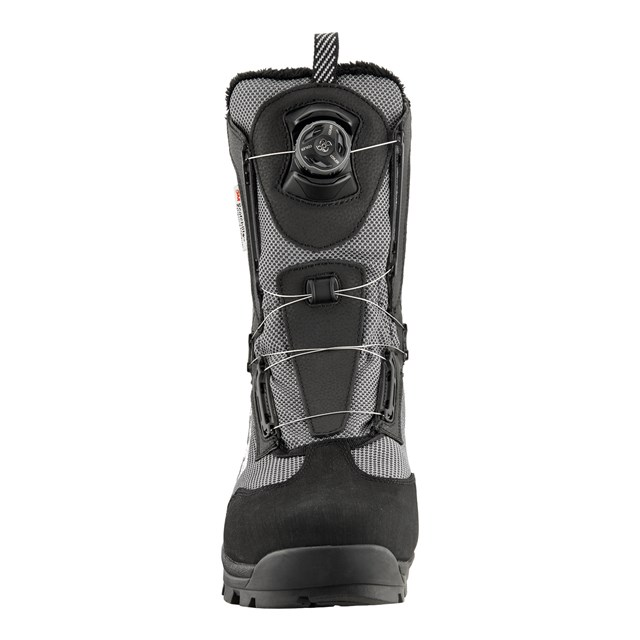 Men's Snowmobiling BOA Switchback Boot with Lace Lock System, Black