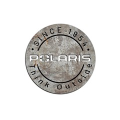 Polaris Round Aluminum Sign 22
